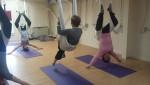 Maitri Studio, Belfast, Sandra Hutchinson, aerial yoga, Cocoon Yoga Belfast