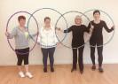 Fli Flo Hoops, Maitri Studio, Belfast, fitness exercise, hula hoops