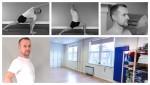 Maitri Studio, Belfast, Iyengar yoga, Andrew Benfield, active