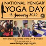 Maitri Studio, Belfast, National Iyengar Yoga Day, free class, Claire Ferry, Louise Belshaw