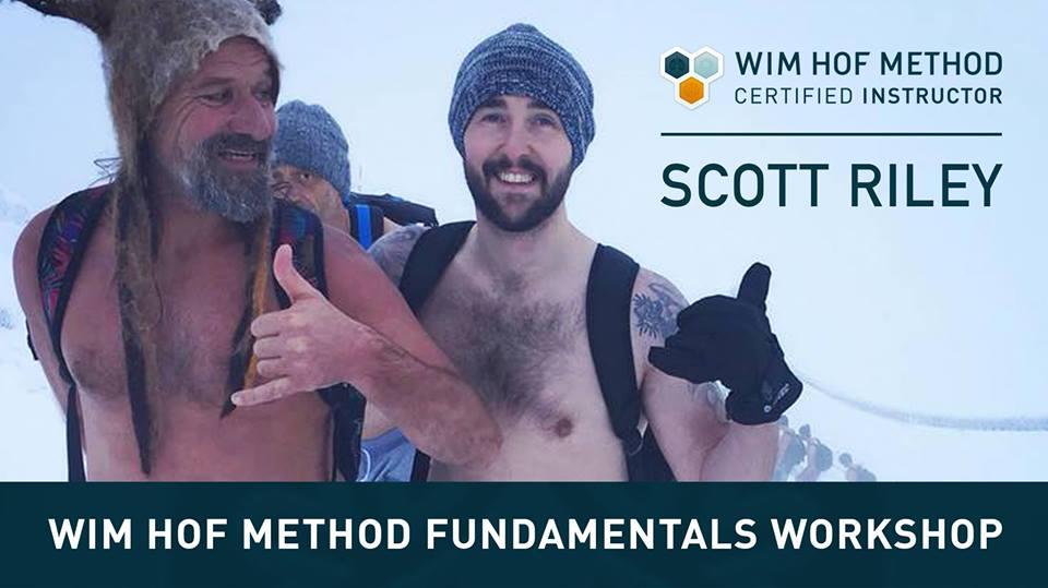Wim hof method, ice bath, cold immersion, Maitri Studio, Belfast