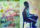 Maitri Studio, Belfast, Skye Bompass, Skype Portraits & NudeScapes, Maternity, model