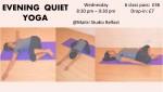 Maitri Studio, Belfast, Nidhi Simmons, Yoga with Nidhi, evening yoga, bedtime, relaxation