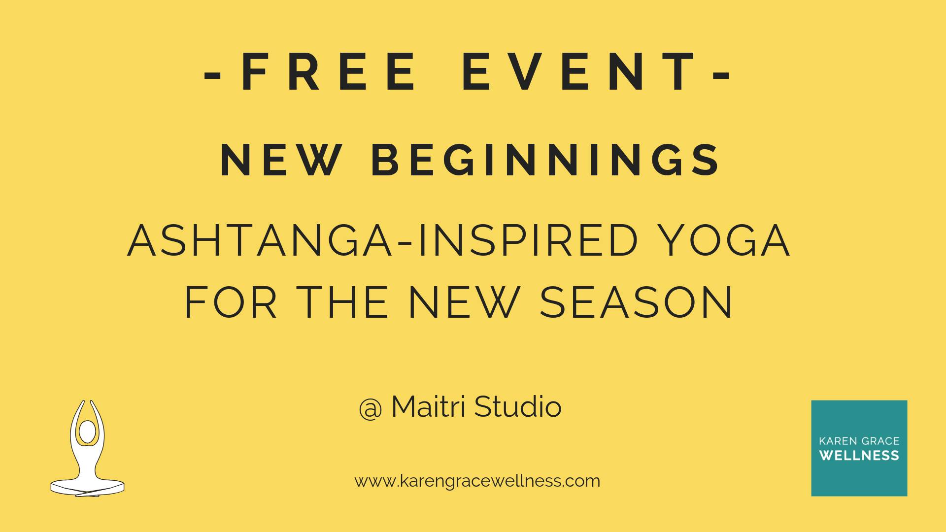 Maitri Studio, Belfast, Karen Houston, free taster, Karen Grace Wellness, ashtanga yoga