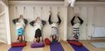 Maitri Studio, Belfast, Claire Ferry Yoga, ropes, Iyengar yoga