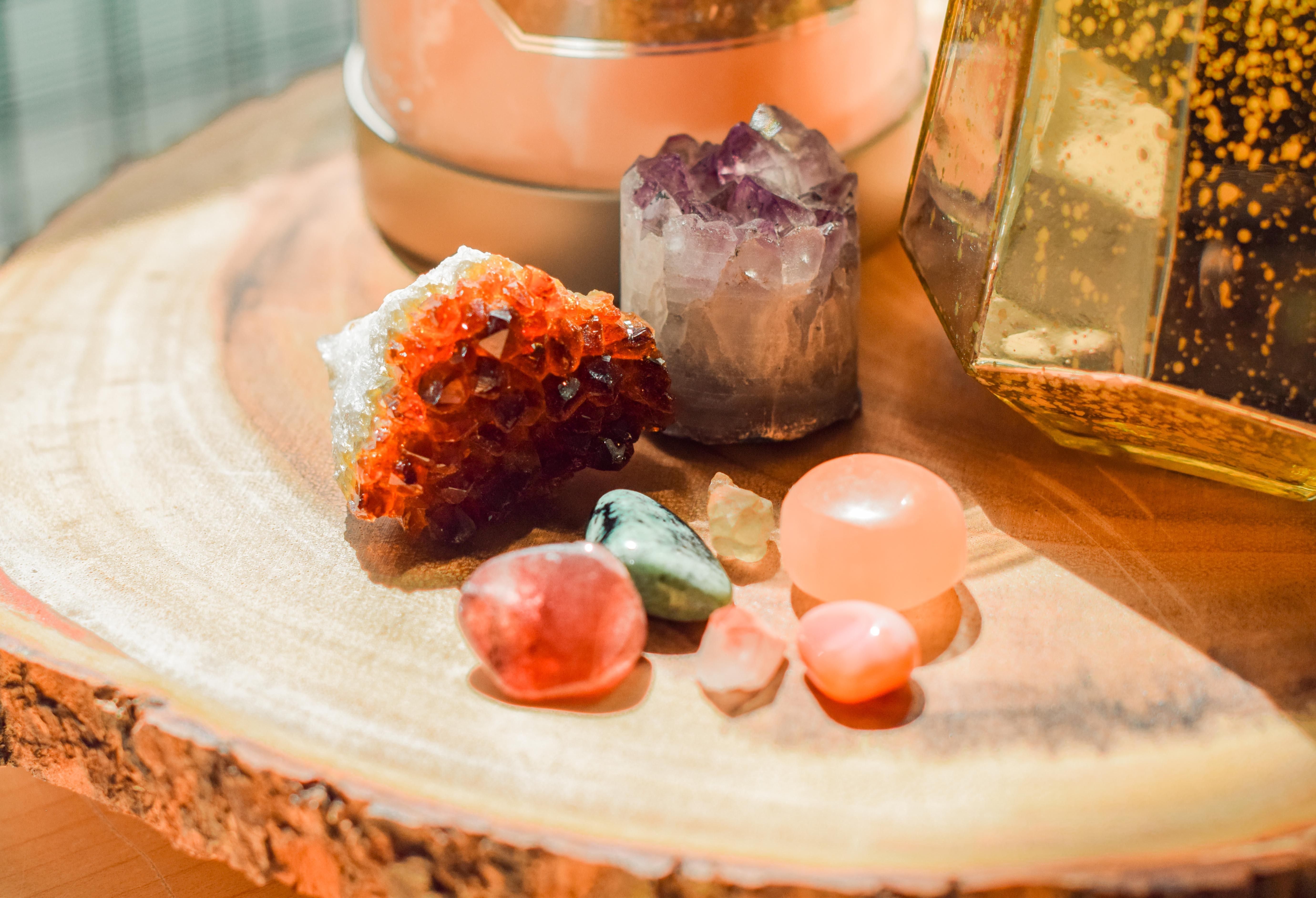 Crystals, crystal healing, crystal workshop