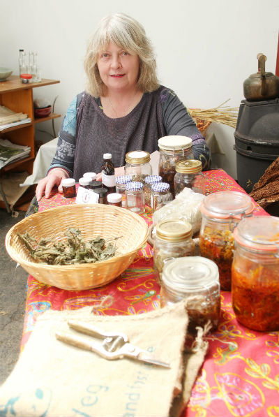 Joan Howard, Herbs of Boirche, Master Herbalist, northern Ireland