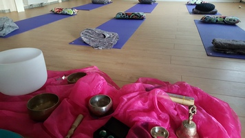 We host lots of sound baths at Maitri