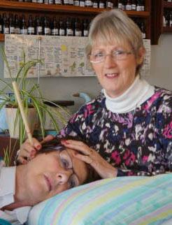 Vivien Hutchinson hopi ear candling Northern Ireland