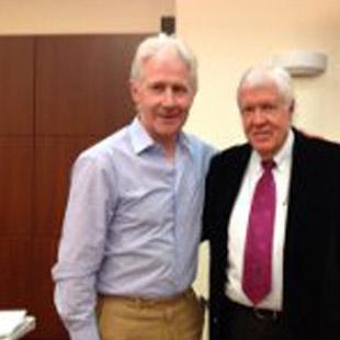 James Meyler with Neurolink founder Dr. Allan Phillips