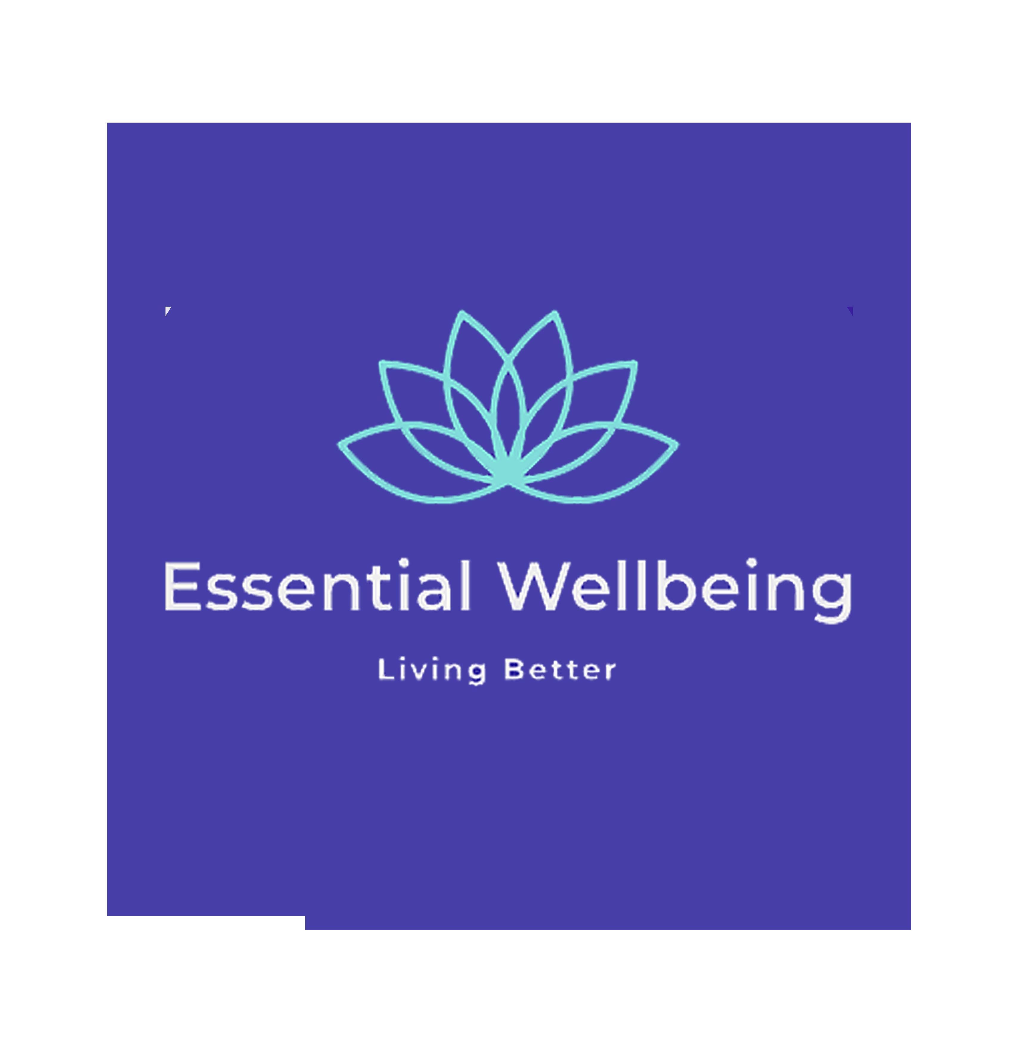 Essential Wellbeing NI logo, ewel.online, Maike Dring