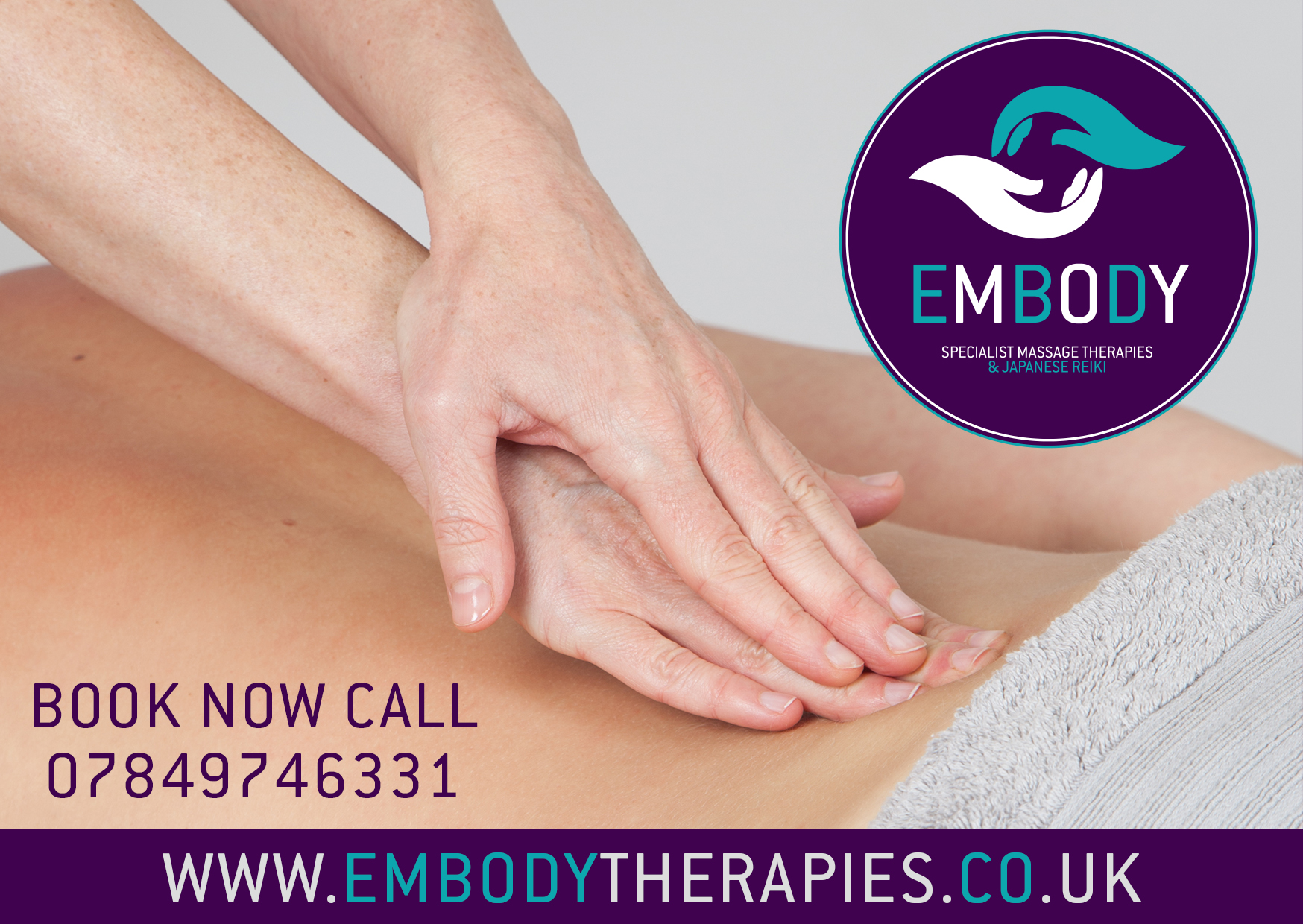 specialist deep tissue, clincal and sports massage