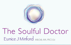 The Soulful Doctor, Eunice Minford, Esoteric Healing, Consultant Surgeon